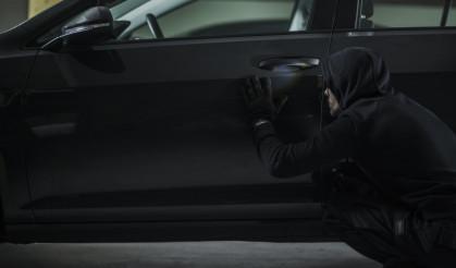 Men Stealing Vehicle