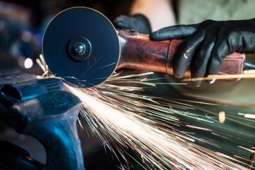 Metal Cut Tool in Action