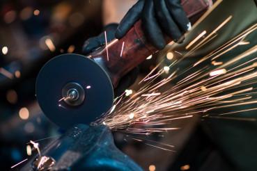 Metal Cutting Tool Closeup
