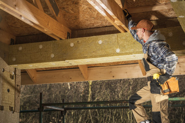Mineral Wool Wooden House Construction Insulation
