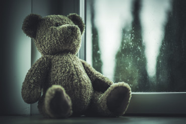 Teddy Bear Islolated From Missing Child.