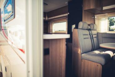 Modern Camper Van Interior