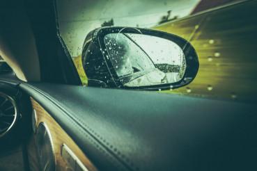 Modern Car Side Mirror