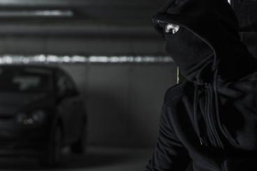 Modern Car Stealing Concept