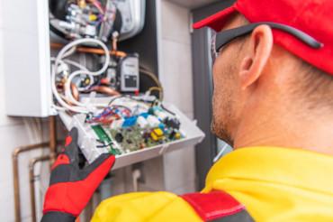 Modern Central Gas Heater Electronics Repair
