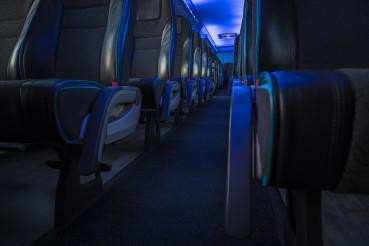 Modern Comfortable International Shuttle Coach Bus