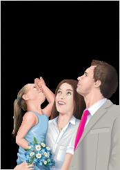 Modern Family Illustration