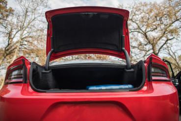 Modern Full Size Car Trunk