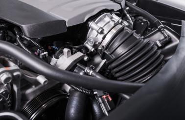 Modern Gasoline Petrol Car Engine