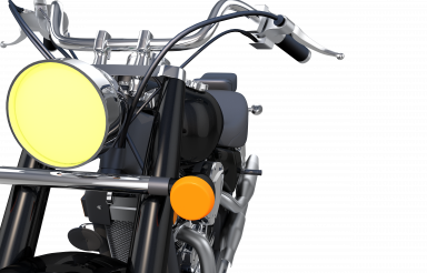 Modern Motorcycle Closeup PNG