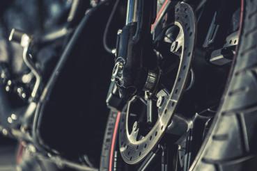 Modern MotorcycleVentilated Disc Brake