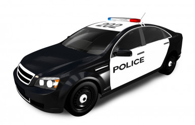 Modern Police Cruiser