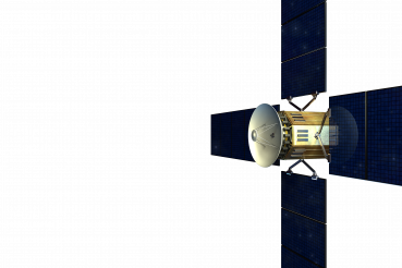 Modern Satellite PNG Illustration