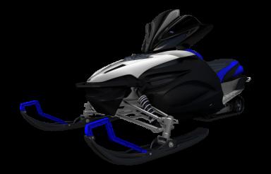 Modern Snowmobile PNG