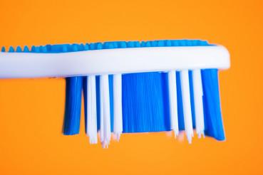 Modern Toothbrush Closeup