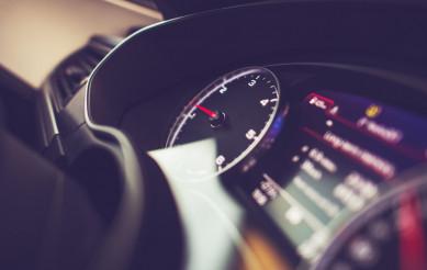 Modern Vehicle Dashboard