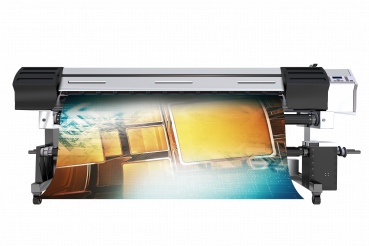 Modern Wide Format Printer PNG Isolated Render