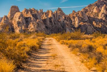 Mojave Desert Rock Formation