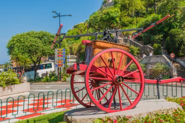 Monaco Vintage Fire Vehicle