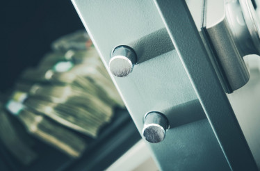 Money in Residential Safe