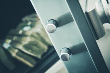 Money in Residential Safe