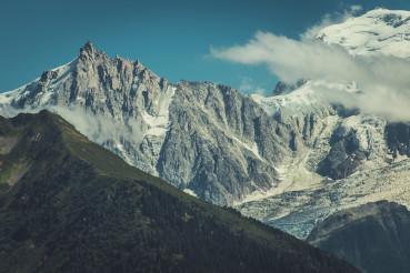 Mont Blanc Massif Chamonix Mont Blanc in France