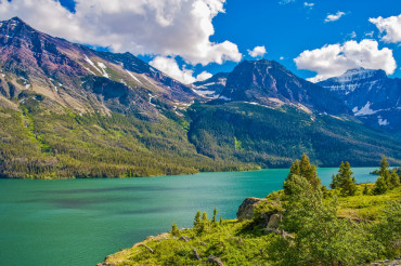 Montana Glacier Mountains