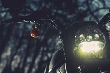 Motorcycle Night Ride Theme