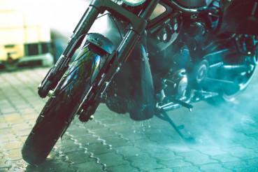 Motorcycle Washing