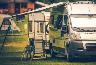 Motorhome Vacation Camping