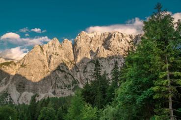 Mount Prisojnik in Slovenia