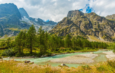 Mountain Alpine Landscape