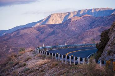 Mountain Road in California