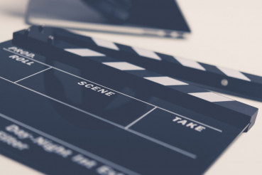 Movie Production Clapperboard
