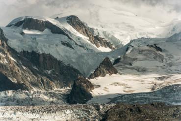 Mt Blanc Alpine Landscape