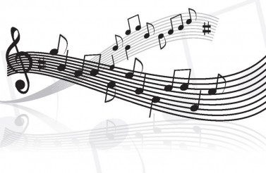Music Notes Vector Song Chart Illustration