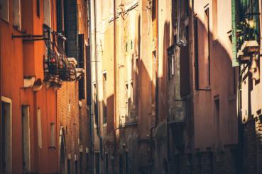 Narrow Italian Streets