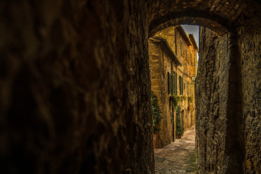 Narrow Italian Village Streets