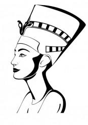 Nefertiti Portrait Vector