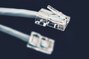 Network Cable Grey Cord