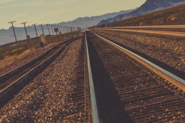 Nevada Railroad Tracks