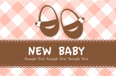 New Baby Vector Design