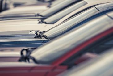 New Cars Dealer Lot
