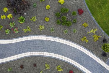 New Garden Building Aerial View