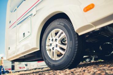 New Tires For RV Camper Van