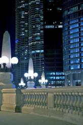 Night Walk in Chicago