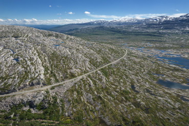 Nordland County, Norway. Saltfjellet Svartisen National Park.
