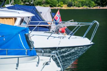Norwegian Boats in Marina