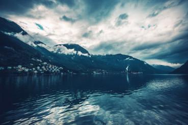 Norwegian Fjord Scenery