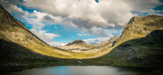 Norwegian Landscape Panorama